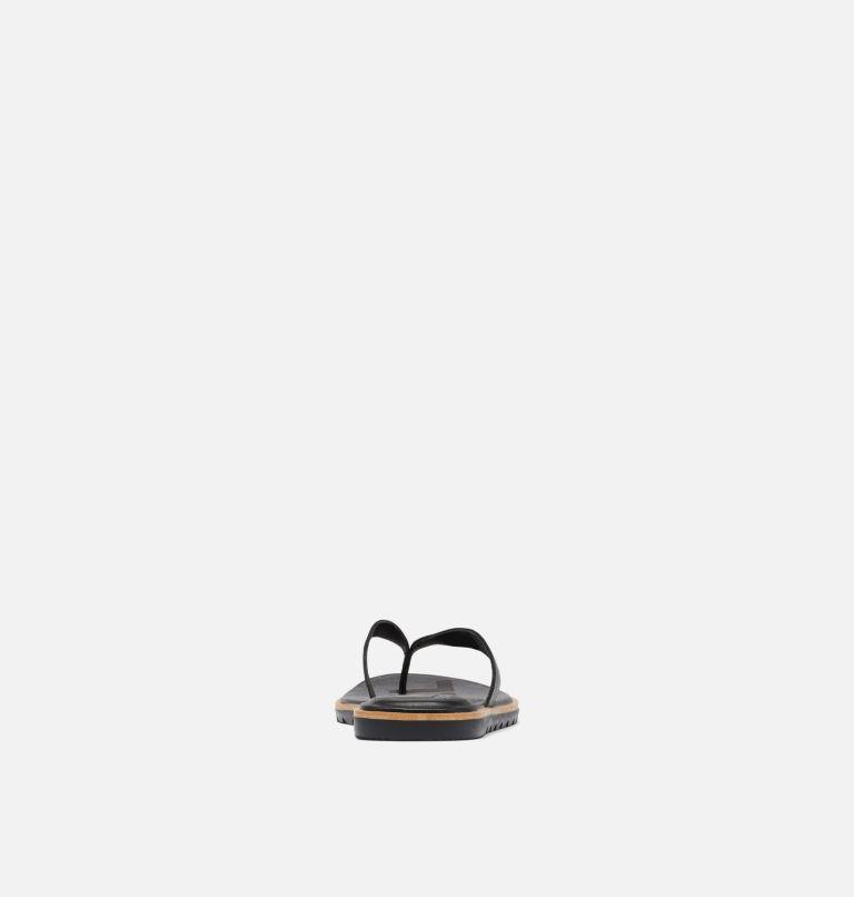 ELLA™ II FLIP | 010 | 5.5 Womens Ella™ II Flip Sandal, Black, Sea Salt, back