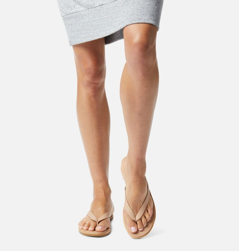 ELLA™ II FLIP | 246 | 12 Womens Ella™ II Flip Sandal, Honest Beige, Gum, a9