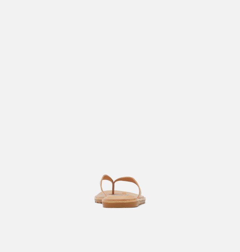 ELLA™ II FLIP | 246 | 12 Womens Ella™ II Flip Sandal, Honest Beige, Gum, back