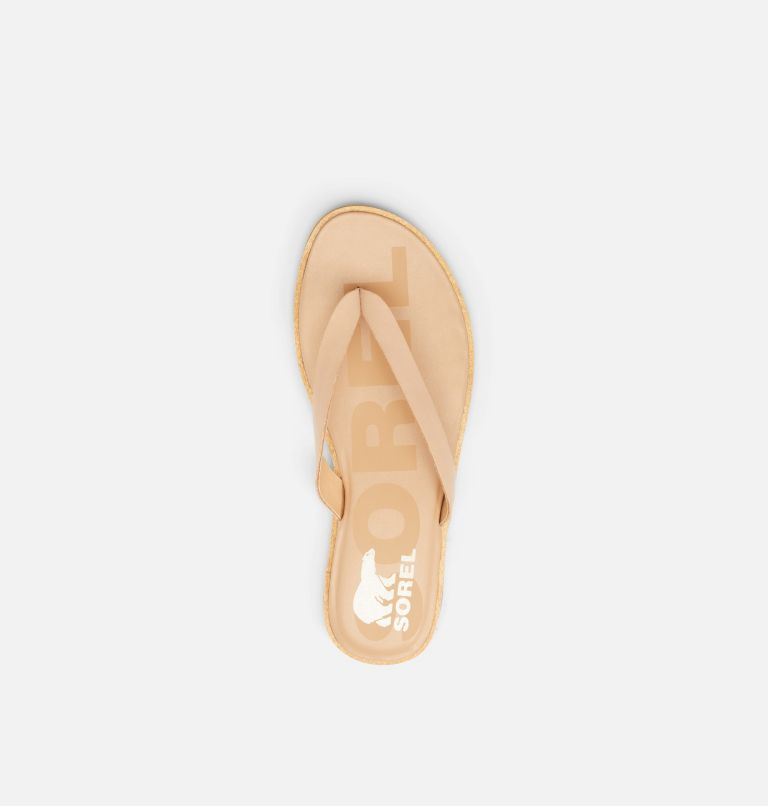 ELLA™ II FLIP | 246 | 5 Sandale-tong Ella™ II pour femme, Honest Beige, Gum, top