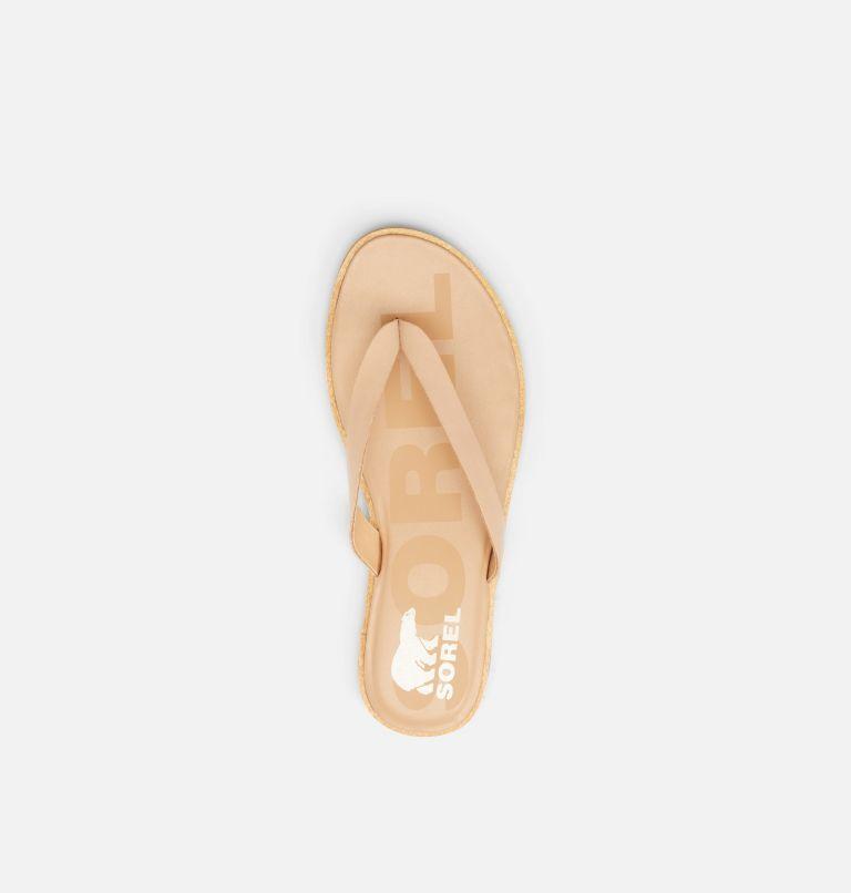 ELLA™ II FLIP | 246 | 12 Womens Ella™ II Flip Sandal, Honest Beige, Gum, top
