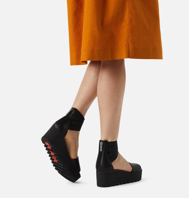 CAMERON™ FLATFORM ANKLE STRAP | 010 | 9 Womens Cameron™ Flatform Ankle Strap Wedge Sandal, Black, a9