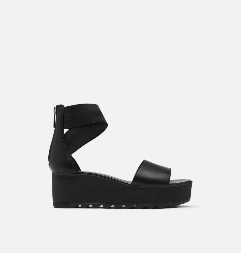 CAMERON™ FLATFORM ANKLE STRAP | 010 | 9 Womens Cameron™ Flatform Ankle Strap Wedge Sandal, Black, front