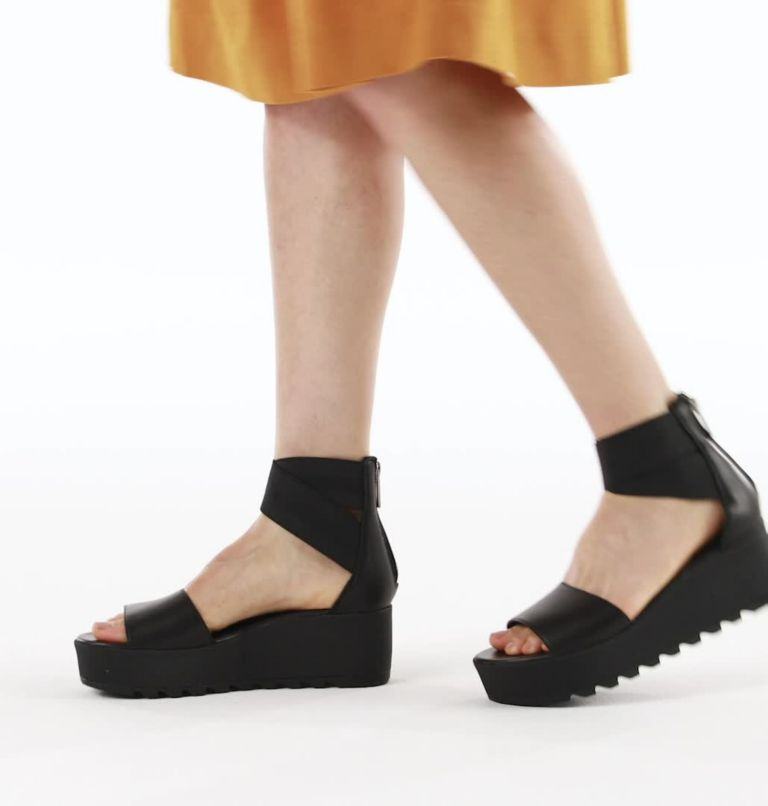 Womens Cameron™ Flatform Ankle Strap Wedge Sandal Womens Cameron™ Flatform Ankle Strap Wedge Sandal, video
