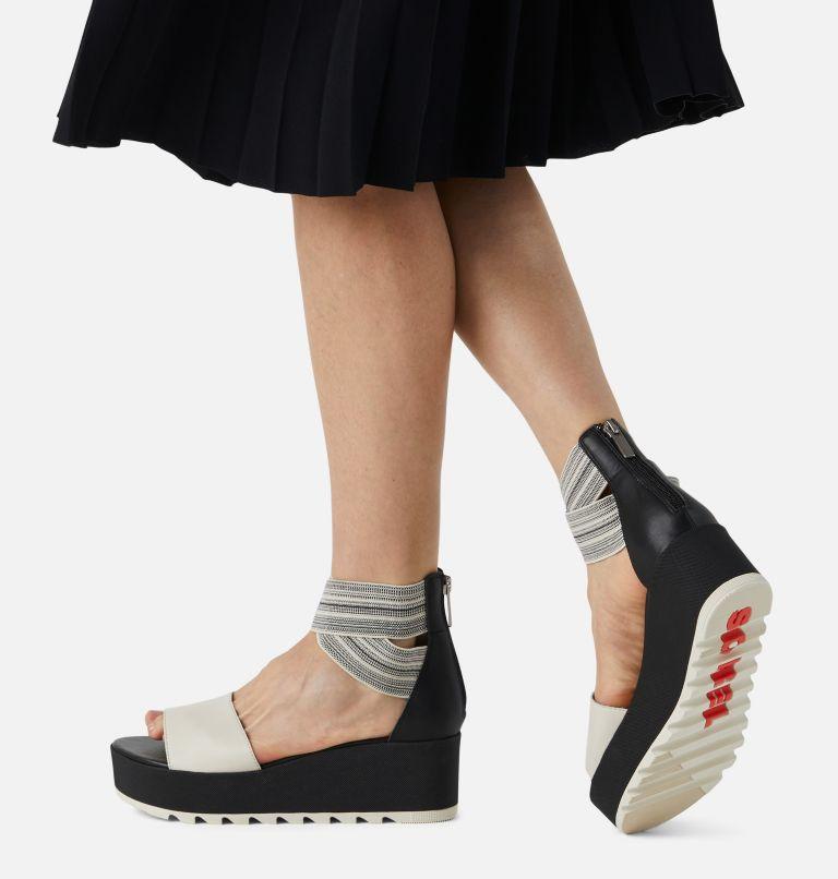 CAMERON™ FLATFORM  ANKLE STRAP   010   12 Womens Cameron™ Flatform Ankle Strap Wedge Sandal, Black, Gore, a9