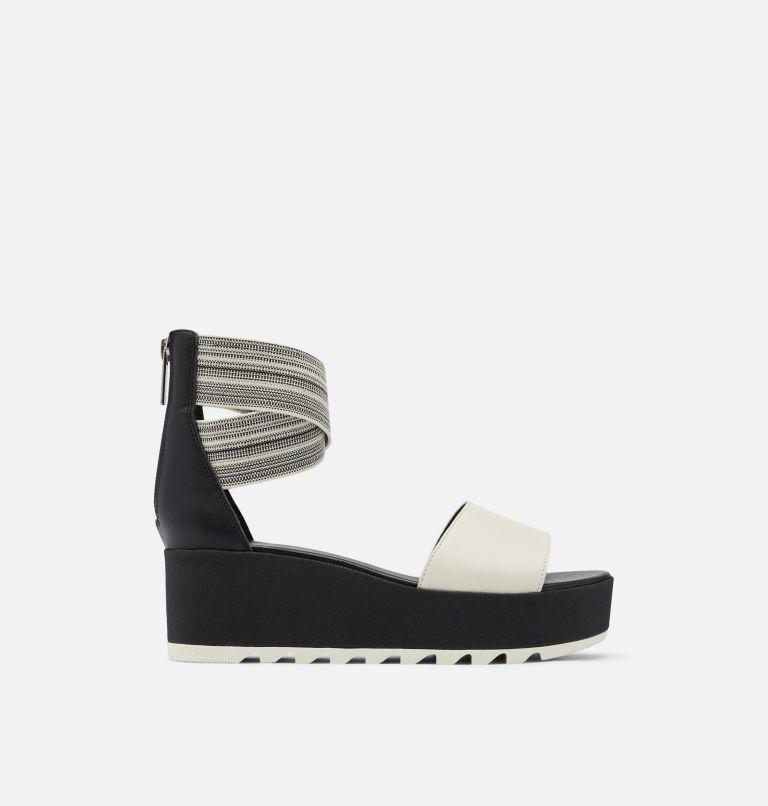 CAMERON™ FLATFORM  ANKLE STRAP | 010 | 8 Womens Cameron™ Flatform Ankle Strap Wedge Sandal, Black, Gore, front
