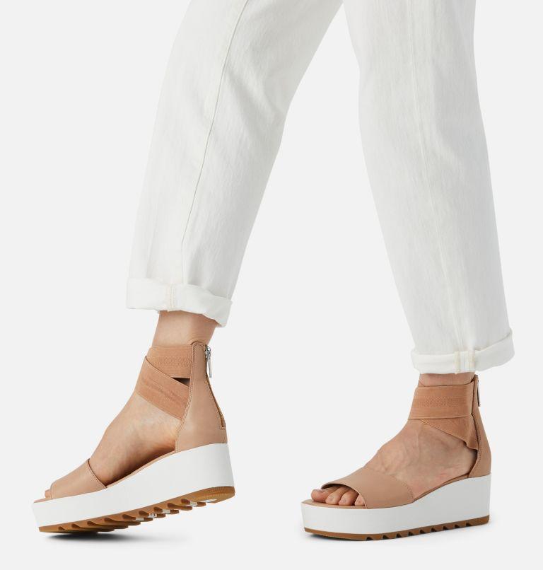 CAMERON™ FLATFORM ANKLE STRAP | 246 | 12 Womens Cameron™ Flatform Ankle Strap Wedge Sandal, Honest Beige, a9
