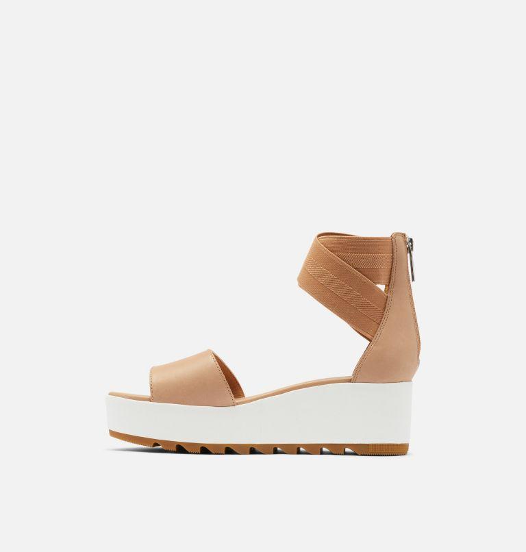 CAMERON™ FLATFORM ANKLE STRAP | 246 | 12 Womens Cameron™ Flatform Ankle Strap Wedge Sandal, Honest Beige, medial