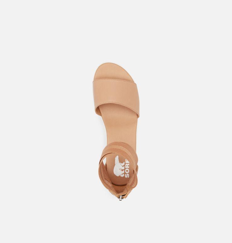 CAMERON™ FLATFORM ANKLE STRAP | 246 | 12 Womens Cameron™ Flatform Ankle Strap Wedge Sandal, Honest Beige, top