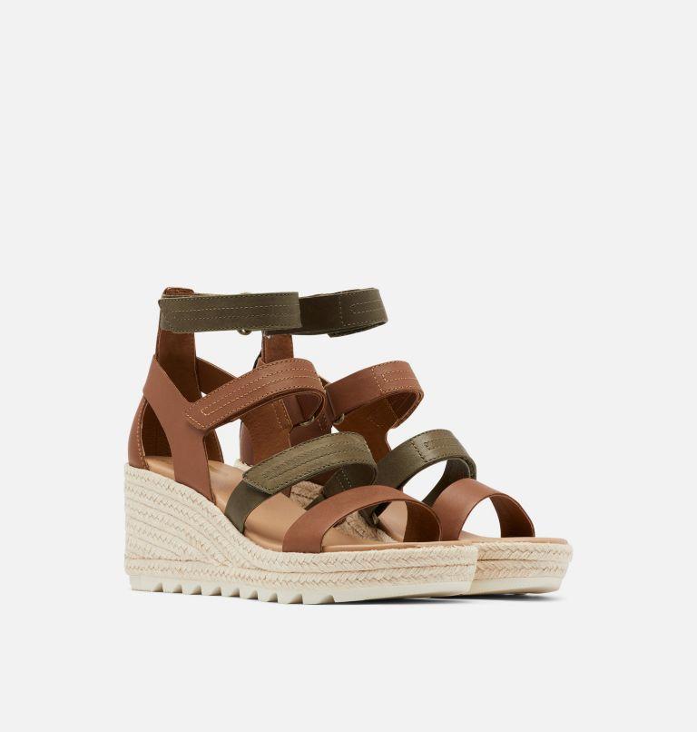 Womens Cameron™ Multi Strap Wedge Sandal Womens Cameron™ Multi Strap Wedge Sandal, 3/4 front