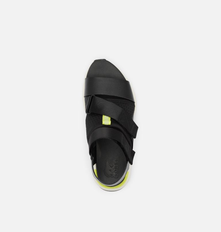 KINETIC™ IMPACT SANDAL | 010 | 8.5 Womens Kinetic™ Impact Sandal, Black, top