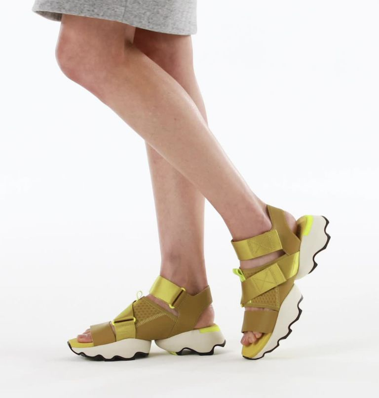 KINETIC™ IMPACT SANDAL | 236 | 6 Womens Kinetic™ Impact Sandal, Dioxide Gold, video