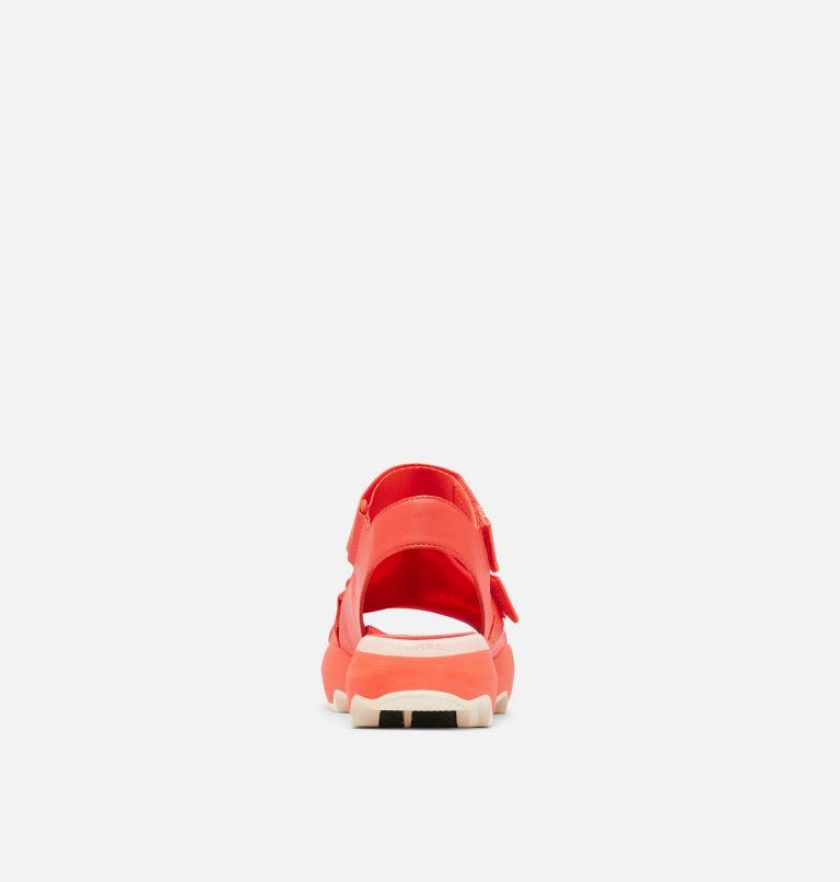 KINETIC™ IMPACT SANDAL   854   5.5 Womens Kinetic™ Impact Sandal, Signal Red, back