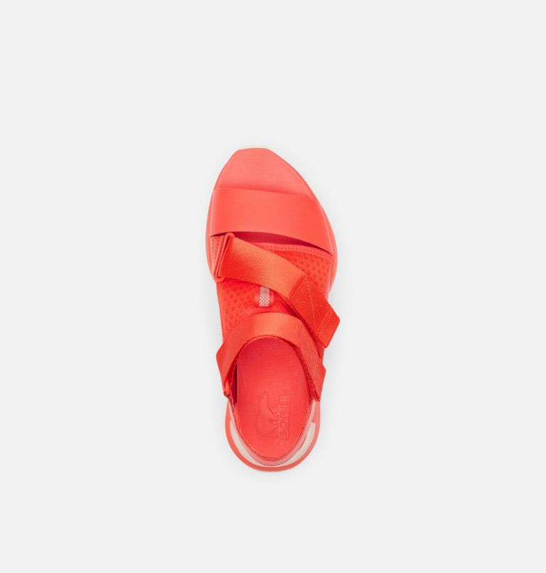 KINETIC™ IMPACT SANDAL | 854 | 5 Womens Kinetic™ Impact Sandal, Signal Red, top