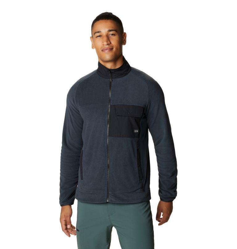 Unclassic™ LT Fleece Jacke | 004 | S Men's Unclassic™ LT Fleece Jacke, Dark Storm, front