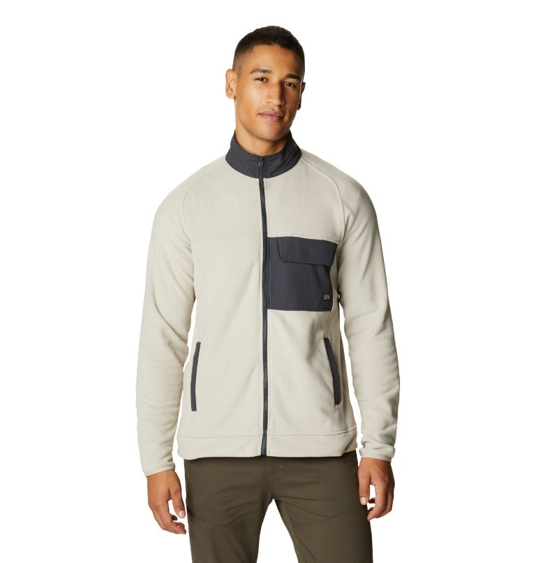 Unclassic™ LT Fleece Jacke | 217 | L Men's Unclassic™ LT Fleece Jacket, Sandblast, front