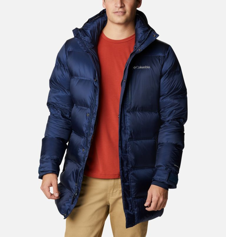 Columbia Mens Peak District Mid Down Jacket + $20 GC