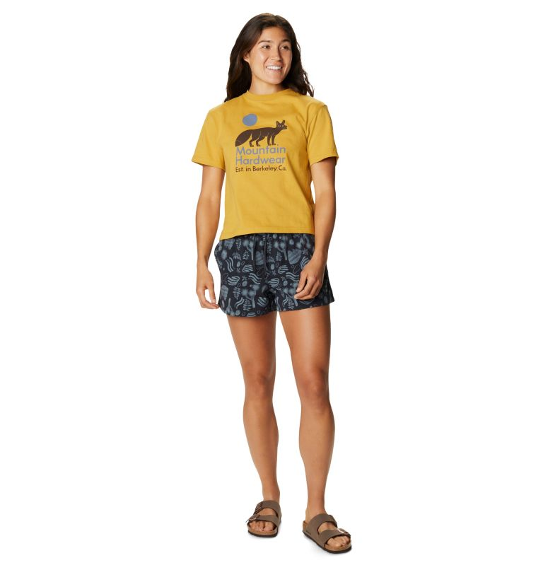 Printed Stryder™ Swim Short | 004 | L Women's Printed Chalkies™ Swim Short, Dark Storm J Tree Print, a3