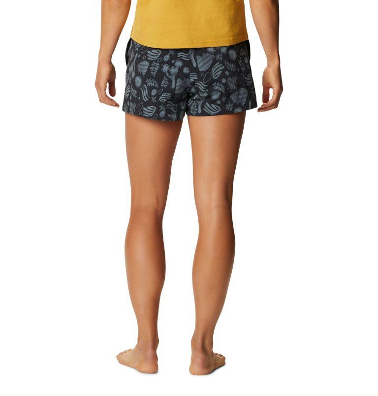 Printed Stryder™ Swim Short | 004 | L Women's Printed Chalkies™ Swim Short, Dark Storm J Tree Print, back