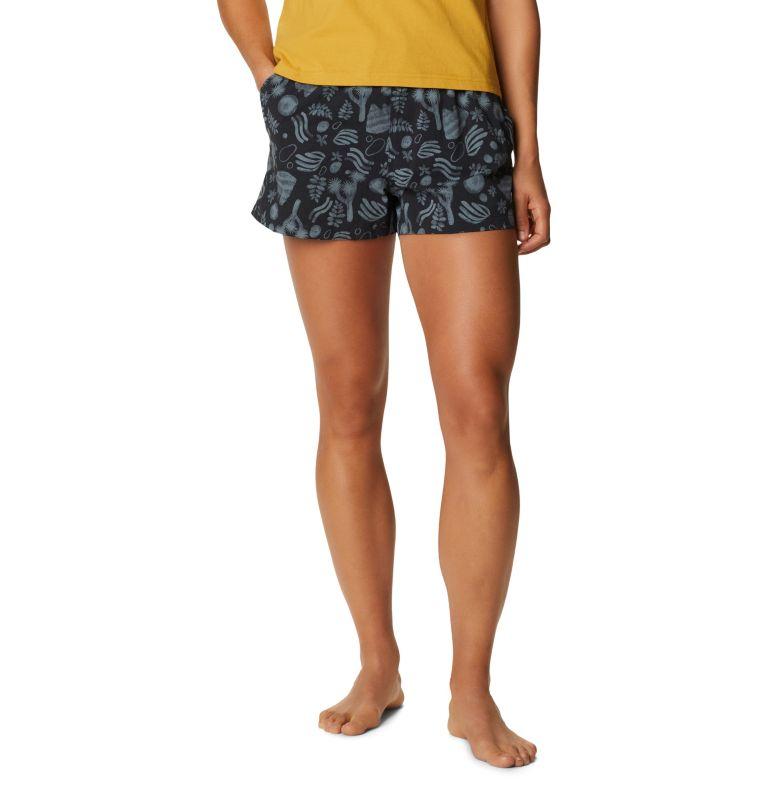 Printed Stryder™ Swim Short | 004 | L Women's Printed Chalkies™ Swim Short, Dark Storm J Tree Print, front