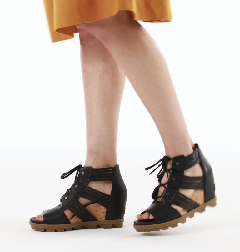 Womens Joanie™ II Lace Huarache Wedge Sandal Womens Joanie™ II Lace Huarache Wedge Sandal, video