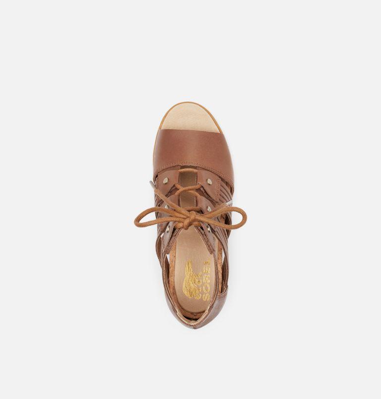 JOANIE™ II LACE HUARACHE | 242 | 9.5 Womens Joanie™ II Lace Huarache Wedge Sandal, Velvet Tan, top