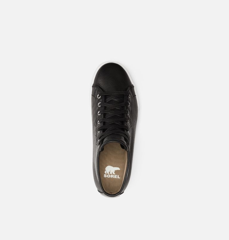 CARIBOU™ SNEAKER CHUKKA WP | 010 | 10.5 Mens Caribou™Chukka Sneaker WP, Black, White, top