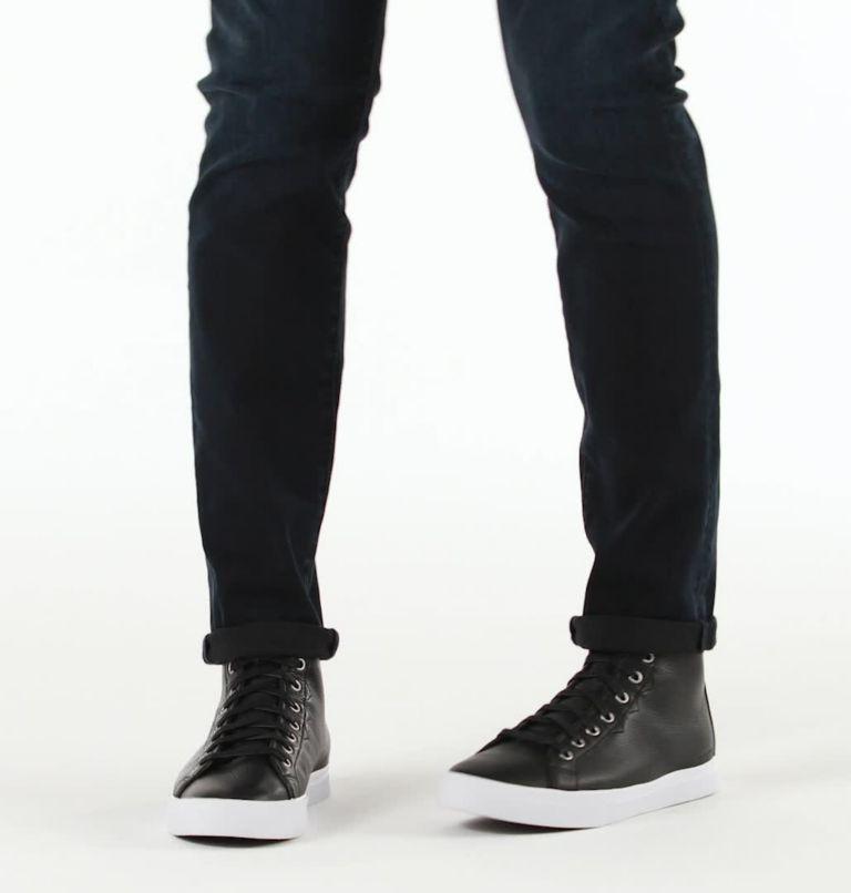 CARIBOU™ SNEAKER CHUKKA WP | 010 | 10.5 Mens Caribou™Chukka Sneaker WP, Black, White, video