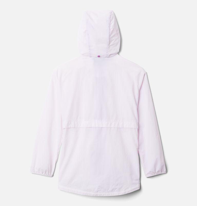 Punchbowl™Jacket | 100 | XS Girls' Punchbowl Jacket, White, Blossom Pink, back