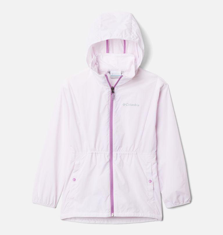 Punchbowl™Jacket | 100 | XS Girls' Punchbowl Jacket, White, Blossom Pink, front