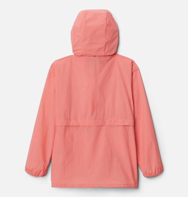 Punchbowl™Jacket | 101 | XXS Girls' Punchbowl Jacket, White, Salmon, back