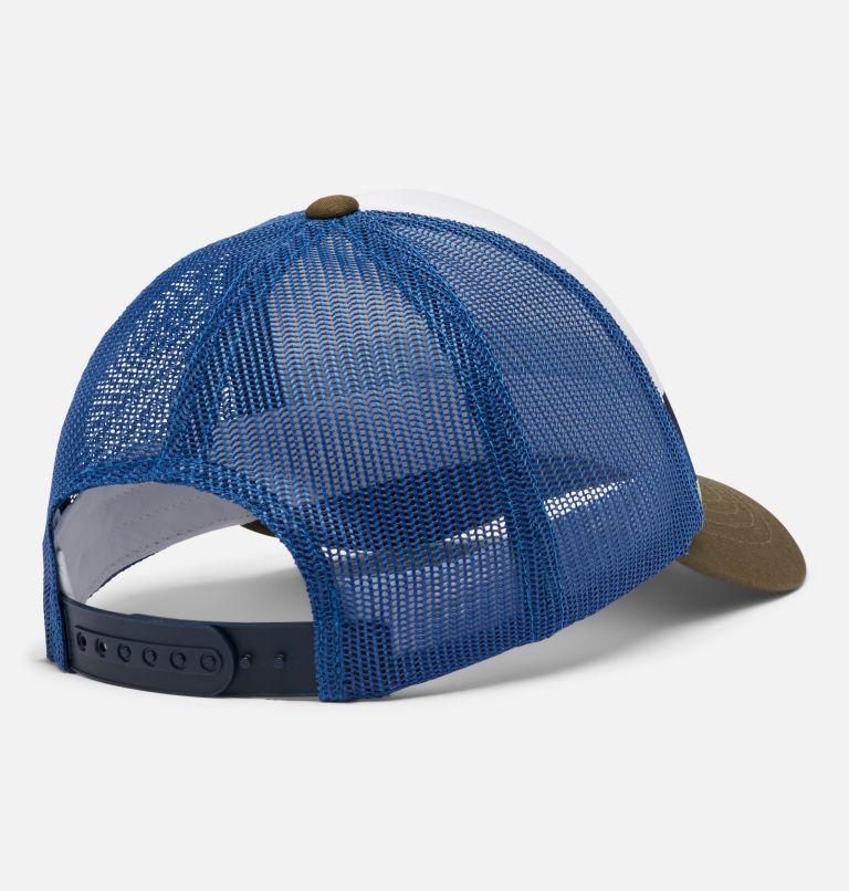 Youth Trucker™   432   O/S Youth Trucker™ Hat, Bright Indigo, Stripe, back