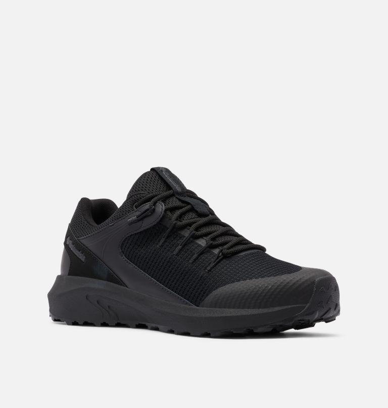 TRAILSTORM™ WATERPROOF WIDE   012   11.5 Men's Trailstorm™ Waterproof Shoe - Wide, Black, Black, 3/4 front