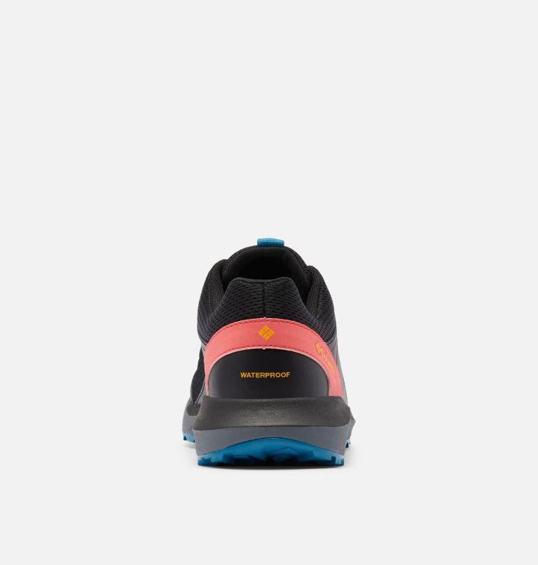 TRAILSTORM™ WATERPROOF   010   5.5 Women's Trailstorm™ Waterproof Shoe, Black, Bright Marigold, back