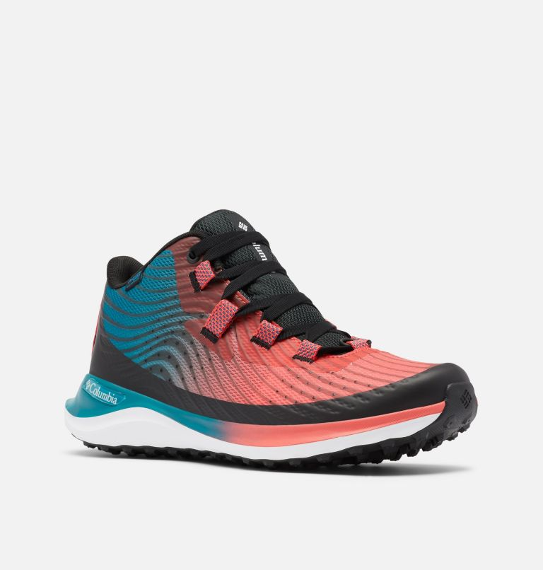ESCAPE™ SUMMIT OUTDRY™ | 633 | 10 Women's Escape™ Summit OutDry™ Trail Shoe, Red Coral, White, 3/4 front