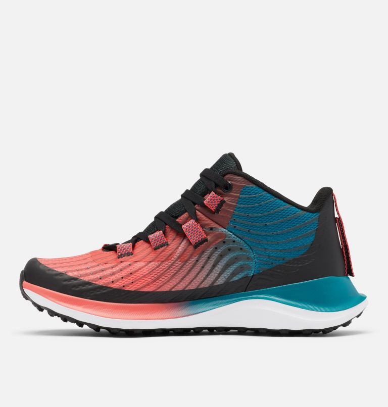 ESCAPE™ SUMMIT OUTDRY™ | 633 | 10 Women's Escape™ Summit OutDry™ Trail Shoe, Red Coral, White, medial