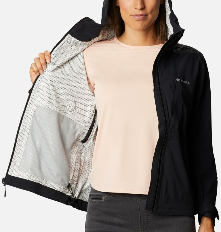 Omni-Tech™ Ampli-Dry™ Shell | 010 | L Veste Imperméable Ampli-Dry™ Femme, Black, a3