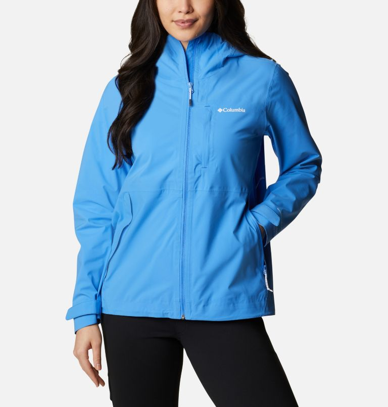 Chaqueta shell impermeable Ampli-Dry™ para mujer Chaqueta shell impermeable Ampli-Dry™ para mujer, front