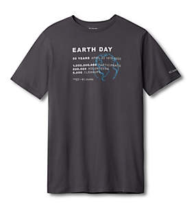 Men's Columbia Earth Day Tee