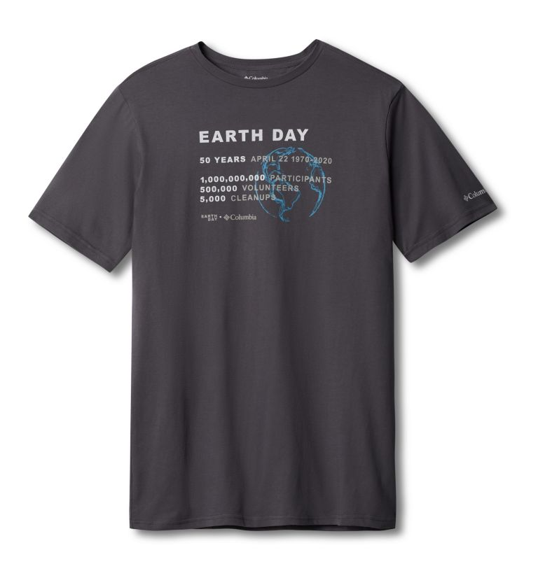 Men's Columbia Earth Day Tee Men's Columbia Earth Day Tee, front