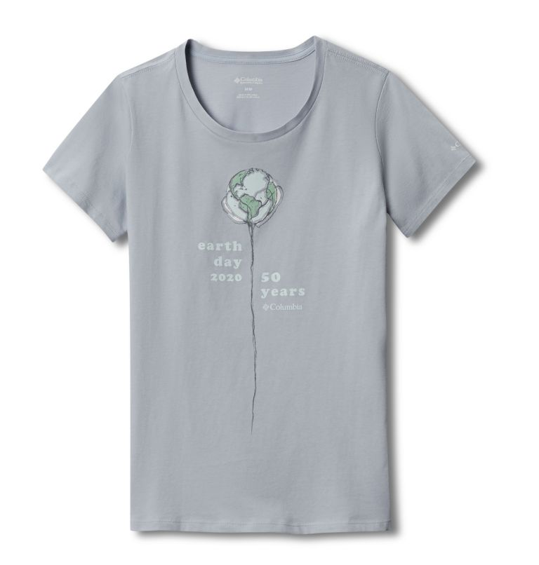 Women's Columbia Earth Day T-Shirt Women's Columbia Earth Day T-Shirt, front