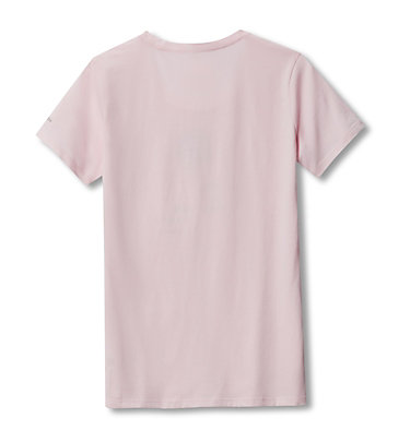 Women's Columbia Earth Day T-Shirt Columbia Earth Day Tee | 031 | L, Whitened Pink, back