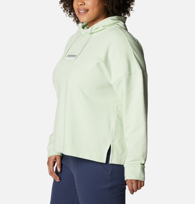 Women's Columbia™ Logo II French Terry Hoodie - Plus Size Women's Columbia™ Logo II French Terry Hoodie - Plus Size, a1