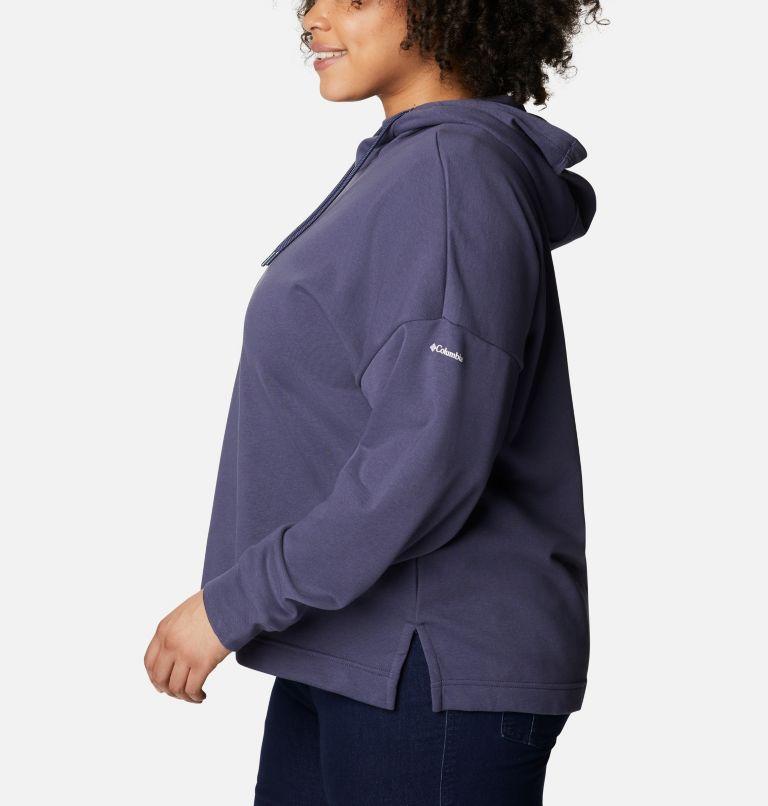 Chandail à capuchon en tissu éponge Columbia™ Logo II pour femme - Grandes tailles Chandail à capuchon en tissu éponge Columbia™ Logo II pour femme - Grandes tailles, a1