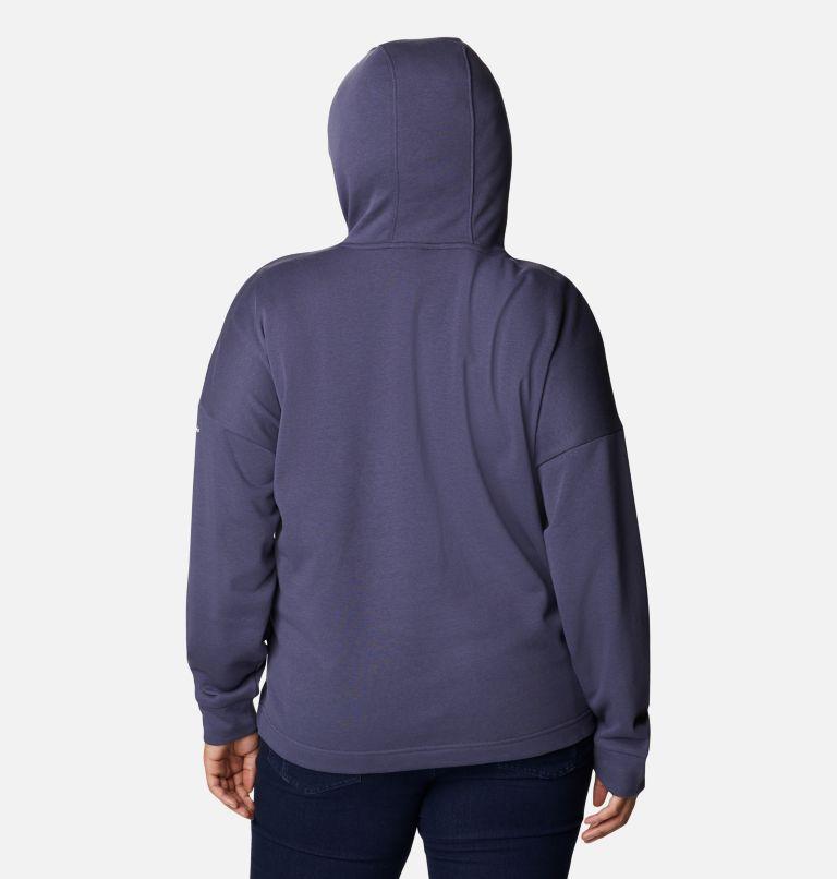 Chandail à capuchon en tissu éponge Columbia™ Logo II pour femme - Grandes tailles Chandail à capuchon en tissu éponge Columbia™ Logo II pour femme - Grandes tailles, back