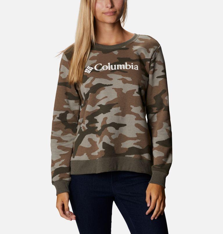 Women's Columbia™ Logo Printed Crew Women's Columbia™ Logo Printed Crew, front