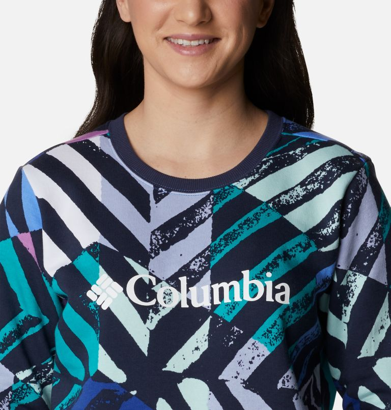 Women's Columbia™ Logo Printed Crew Women's Columbia™ Logo Printed Crew, a2