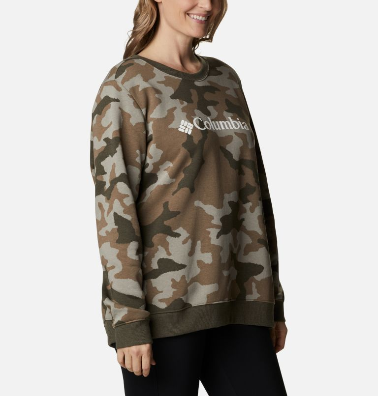 Women's Columbia™ Logo Printed Crew - Plus Size Women's Columbia™ Logo Printed Crew - Plus Size, a3