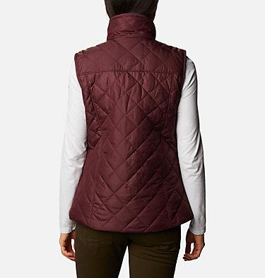 Women's Copper Crest™ Vest Copper Crest™ Vest | 671 | L, Malbec, back