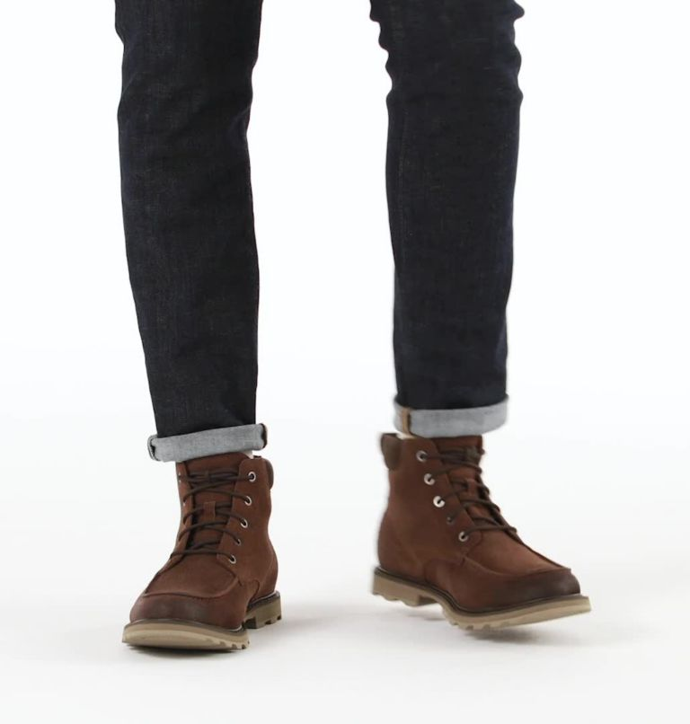 FULTON™ MOC TOE | 256 | 9.5 Men's Fulton™ Moc Toe Boot, Tobacco, video